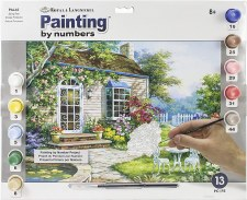 Paint By Number Spring Patio