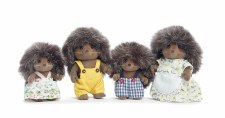 Calico Critters Pickleweed Hedgehog Family