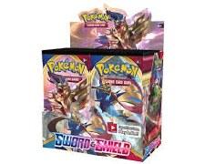 Pokemon Sword Shield Booster Pack