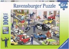 Ravensburger 100pc Polica On Patrol
