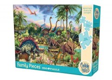 Cobble Hill 350pc Prehistoric Party Family Puzzle