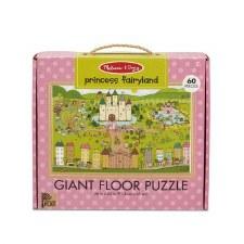 Melissa & Doug Giant Floor Puzzle 60pc Princess Fairyland