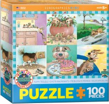 Eurographics 100pc Puppy Trouble