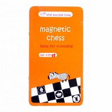 The Purple Cow Magnetic Chess Travel Game