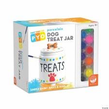 Paint Your Own Porcelain Dog Treat Jar