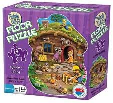 Cobble Hill 24pc Rabbits House Floor Puzzle