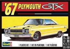 Revell 67 Plymouth Gtx 1/25