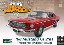 Revell 1968 Mustang Gt 2 N 1 1/25 Level 4