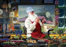 Cobble Hill 1000pc Santa's Hobby
