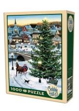 Cobble Hill 1000pc Village Tree