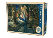 Cobble Hill 500pc Away In A Manger