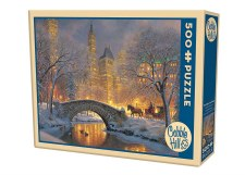 Cobble Hill 500pc Winter In The Park