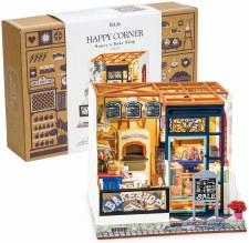 Diy Miniature House Happy Corner Nancy's Bake Shop