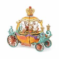 Diy Music Box Pumpkin Carriage