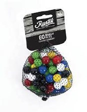 Rustik Colored Game Marbles