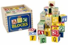 Schylling Wooden Abc Blocks 48s