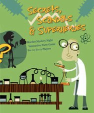Murder Mystery Secrets, Scandals, & Superheroes