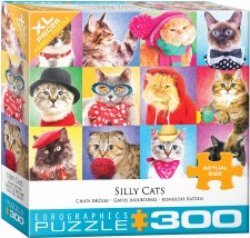 Eurographics 300pc Xl Silly Cats