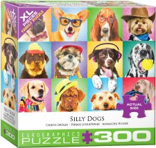 Eurographics 300pc Xl Silly Dogs