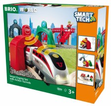 Brio Smart Engine Set With Action Tunnel 33873
