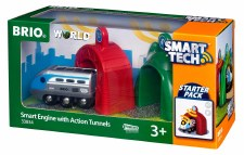Brio Smart Engine With Action Tunnels 33834