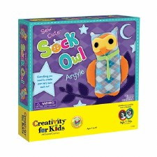 Creativity For Kids Sew Cute Sock Owl