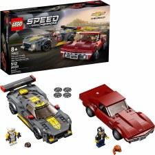 Lego Speed Champions Chev Corvette C8.R & 68 Chev Corvette