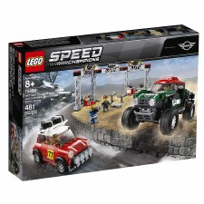 Lego Speed Champions 1967 Mini Cooper S Rally 2018 John Cooper Buggy
