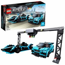 Lego Speed Champions Formula E Panasonic Jaguar Racing Gen2 Car