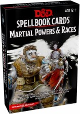 D&d Spellbook Cards Martial Powers & Races