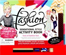 Spicebox Fashion Activity Book