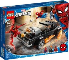 Lego Spider-man And Ghost Rider Vs. Carnage 76173