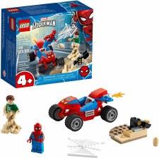 Lego Spider Man And Sandman Showdown 76172
