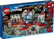 Lego Spider Man Attack On The Spider Lair