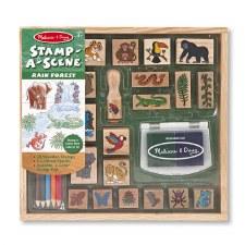 Melissa & Doug Stamp A Scene Rain Forest