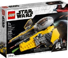 Lego Star Wars Anakins Jedi Interceptor