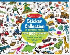 Melissa & Doug Sticker Collection Blue