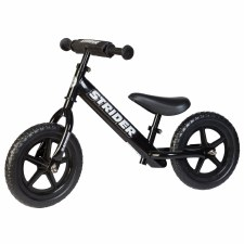 Strider Balance Bike Black Sport