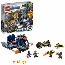 Lego Avengers Truck Take Down