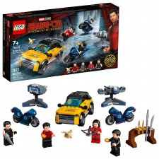 Lego Shang Chi Escape From The Ten Rings