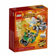 Lego Super Heroes Mighty Micro Thor Vs Loki 76091