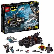 Lego Super Heroes Mr. Freeze Batcycle Battle 76118