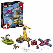 Lego Super Heroes Spider Man Doc Ock Diamond Heist 76134