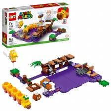 Lego Super Mario Wigglers Poison Swamp Expansion Set 71383