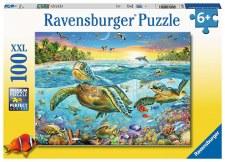 Ravensburger 100pc Swim With Sea Turtles