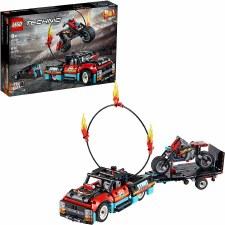 Lego Technic Stunt Show Truck And Bike 42106