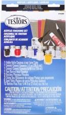 Testors Acryllic Paint Acryllic Finish Set 9163bt