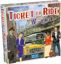 Ticket To Ride New York 1960 Expansion