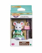 Calico Critters Town Girl Marshmallow Mouse