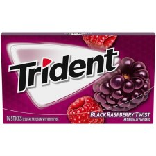 Trident Black Raspberry Twist Gum